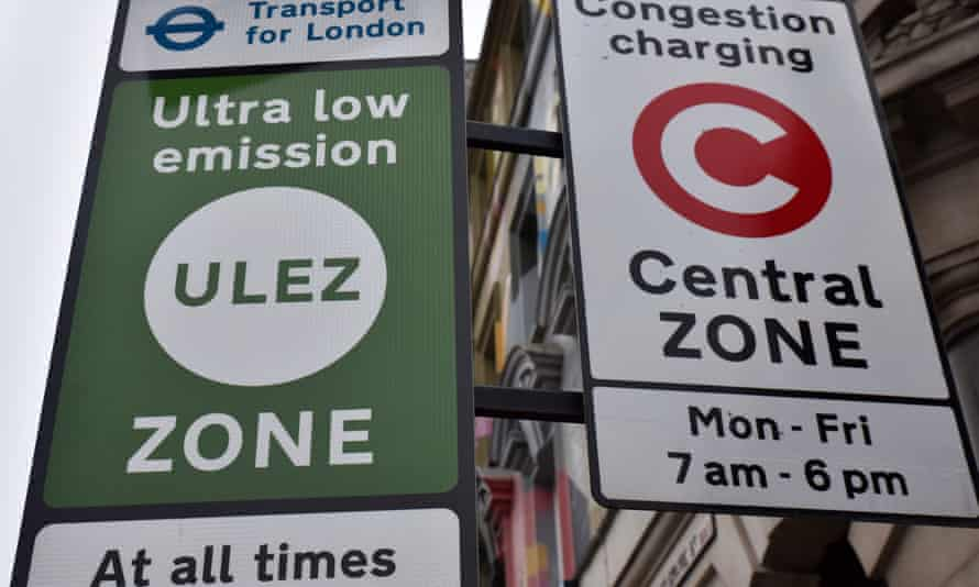 Ultra-low emissions zone sign