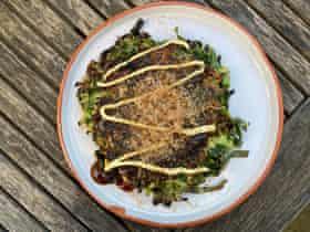 'Almost custardy' batteris employed in Moto Priestman's okonomiyaki.