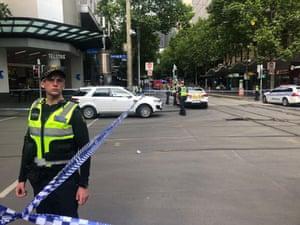 Bourke Street Stabbing.