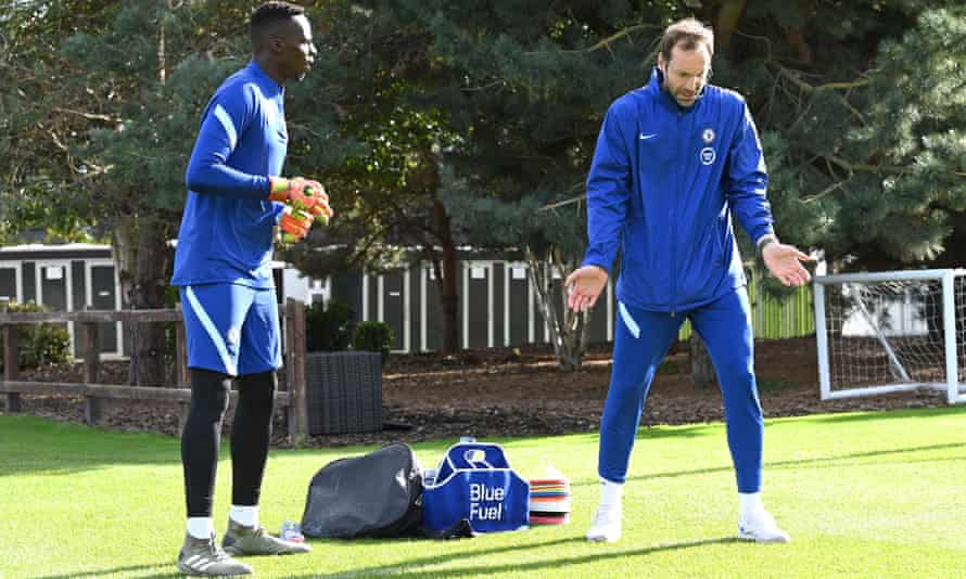Petr Cech has been included in Chelsea's squad as back-up to the club's new signing Edouard Mendy.