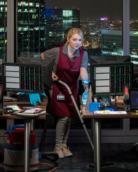 Sheridan Smith in new show Cleaning Up.