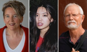L-R: Authors Gina Perry, Jamie Marina Lau and Rodney Hall.
