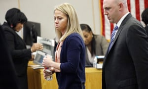 Amber Guyger in court last week. The sentencing phase is due to begin on Tuesday afternoon.