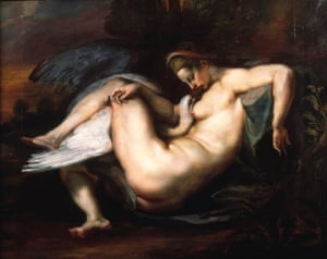 Leda and the Swan by Peter Paul Rubens.