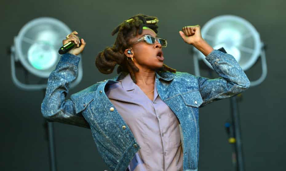 Intense and distinctive … Little Simz performing at All Points East Festival in London in August 2021.
