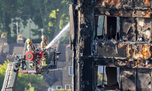 Grenfell Tower on Friday: people should not have to choose between staying warm and the risk of fire.