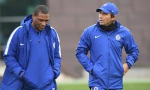 Michael Emenalo and  Antonio Conte.