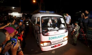 Bali Nine' pair among eight executed for drug offences in