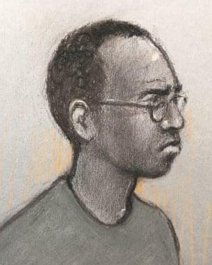 The accused, Darren Pencille