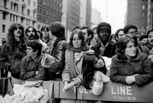 Day after John Lennon's death, 72nd Street and CPW [Central Park West], 1980
