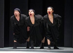 Schmetterling by Nederlands Dans Theater at Sadler's Wells, 2014