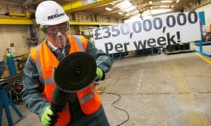 Boris Johnson and the £350,000,000 per week claim