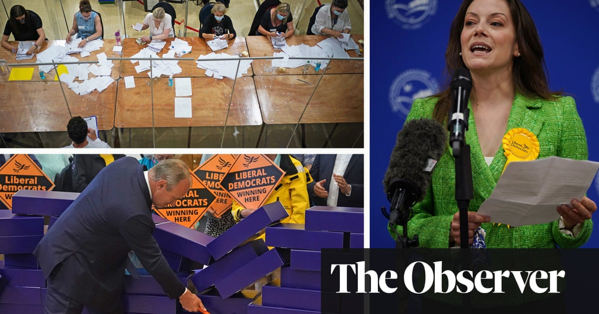 The blue wall: what next for the Tories after a shock byelection defeat?