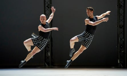 Androgynous athleticism … Hearts and Arrows by LA Dance Project at Sadler's Wells.