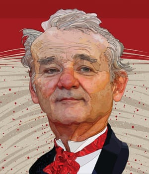 PROFESSIONAL CATEGORY WINNER TONY RODRIGUEZ | BILL MURRAY - MARK TWAIN PRIZE A characterful portrait of Bill Murray for the Washington Post. Lead art for the Washington Post's Arts & Entertainment section; an illustration of actor Bill Murray in honour of his most recent accolade, the 2016 Mark Twain Prize for American Humor award. The work of digital illustrator Tony Rodriguez infuses flat colour with bold line to convey a sense of spontaneity and simplicity.