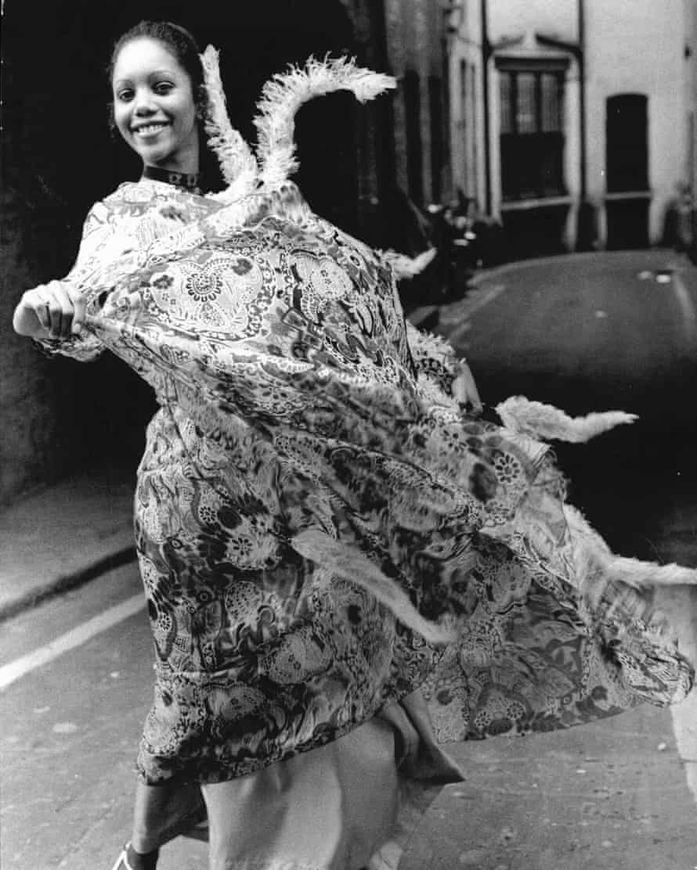 A Gina Fratini dress from 1970: 'I like movement', she said