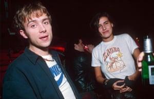 Damon Albarn and Frischmann: the Posh and Becks of Britpop.