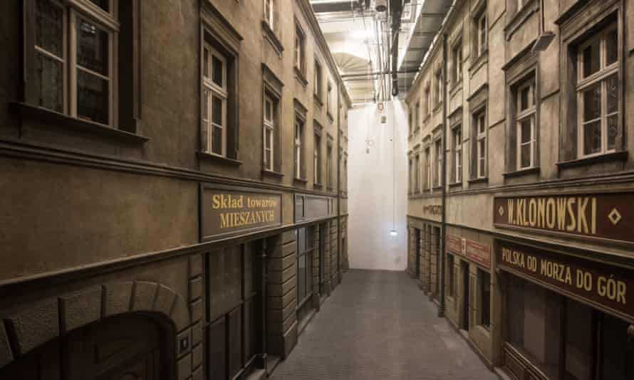 The interior of the museum in Gdansk.