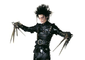 Johnny Depp as Edward Scissorhands: the embodiment of teenage unhappiness.