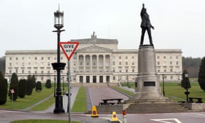 The Northern Ireland parliament at Stormont.