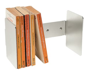 Penguin Huddle book clamp, £96, by Jasper Morrison, from SCP