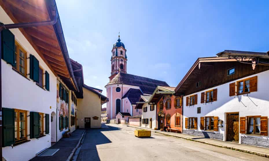 The picture-book town of Mittenwald