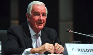 World Anti-Doping Agency president Sir Craig Reedie at a press conference in Seoul on Thursday.