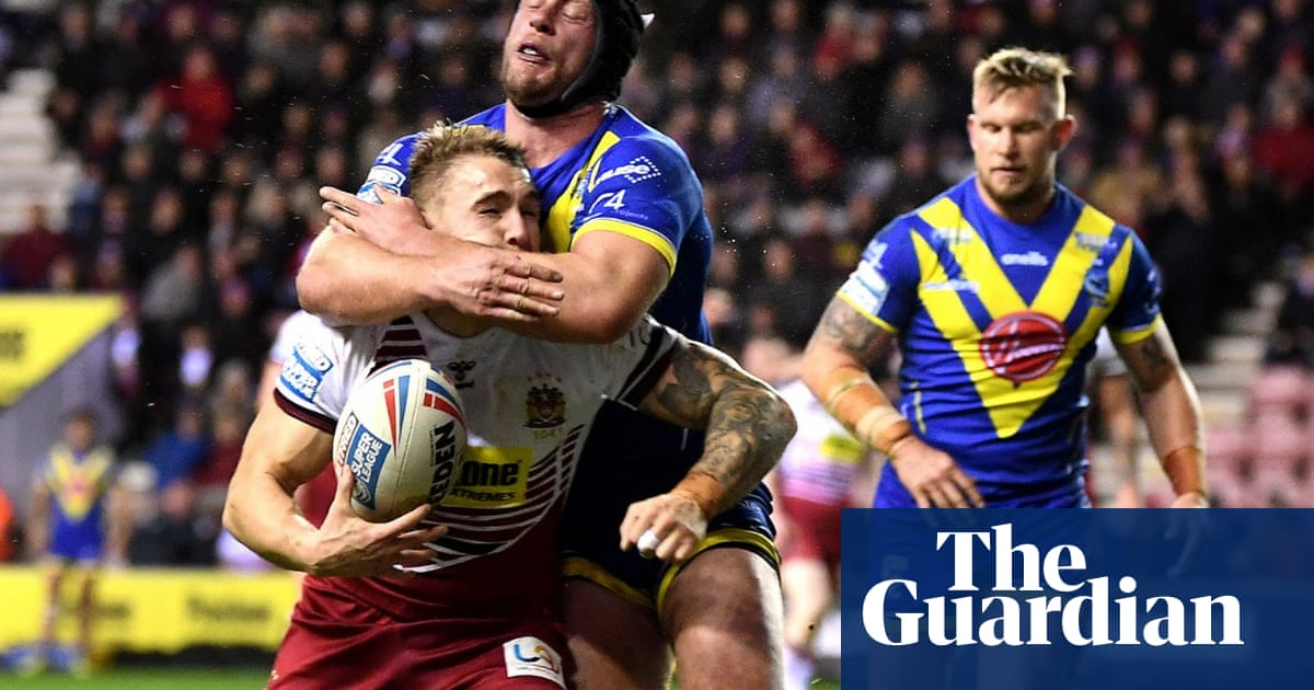 Wigan make Warrington pay after Chris Hill's red card in Super League opener