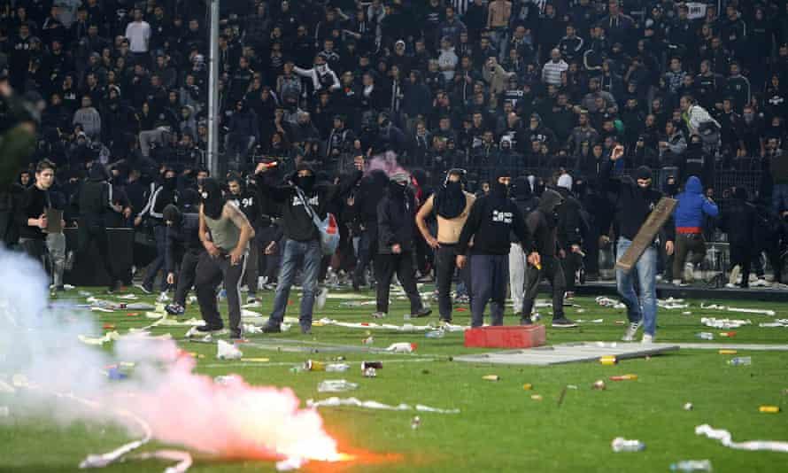 PAOK v Olympiakos