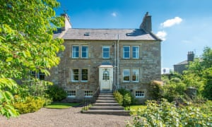 Home and away homes with fishing rights, in Kelso, Scottish Borders