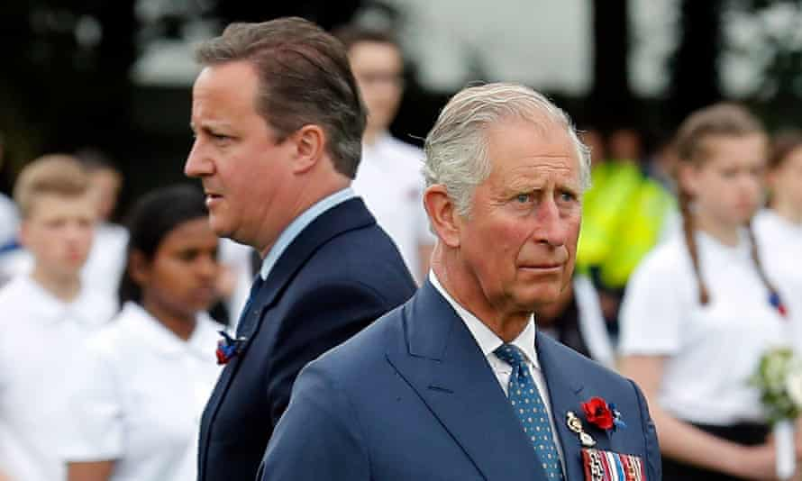 Rebel Prince includes the claim that Prince Charles 'screamed' at David Cameron after it was suggested that control of the royal parks would be handed to the Greater London Authority.