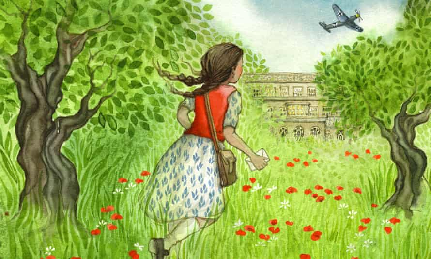 A detail from Anna at War by Helen Peters.
