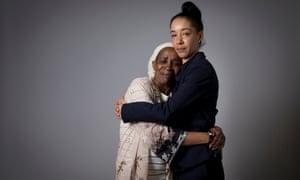 Paulette Wilson with her daughter, Natalie Barnes