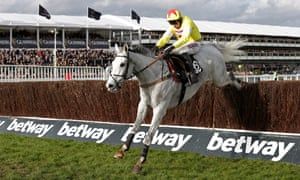 Politologue ridden by jockey Harry Skelton on their way to winning the Queen Mother Champion Chase.
