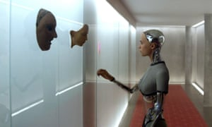 Ava, the super-intelligence in Alex Garland's <em>Ex Machina</em> (2015)