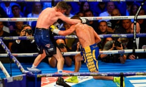Vasiliy Lomachenko against Luke Campbell