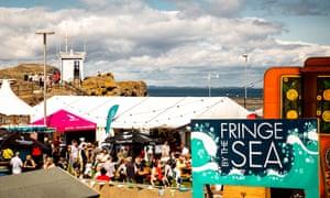 Fringe by the Sea, North Berwick, Scotland.