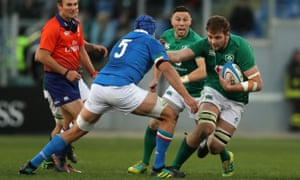 Iain Henderson was a replacement in Rome, but now returns to the starting XV.