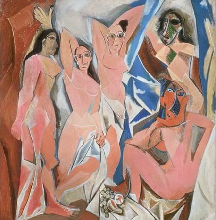 Les Demoiselles d'Avignon.