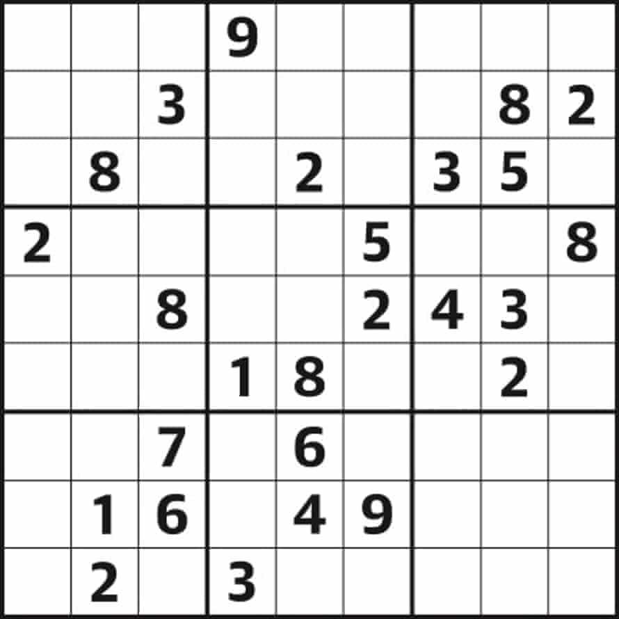 Sudoku 4520 hard