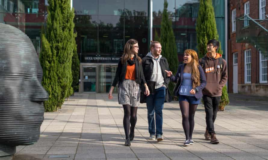 Students at the University of Hull