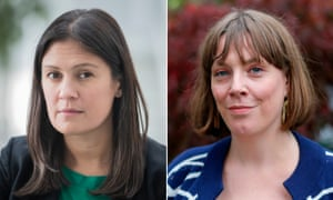 Lisa Nandy and Jess Phillips, two of the Labour leadership hopefuls