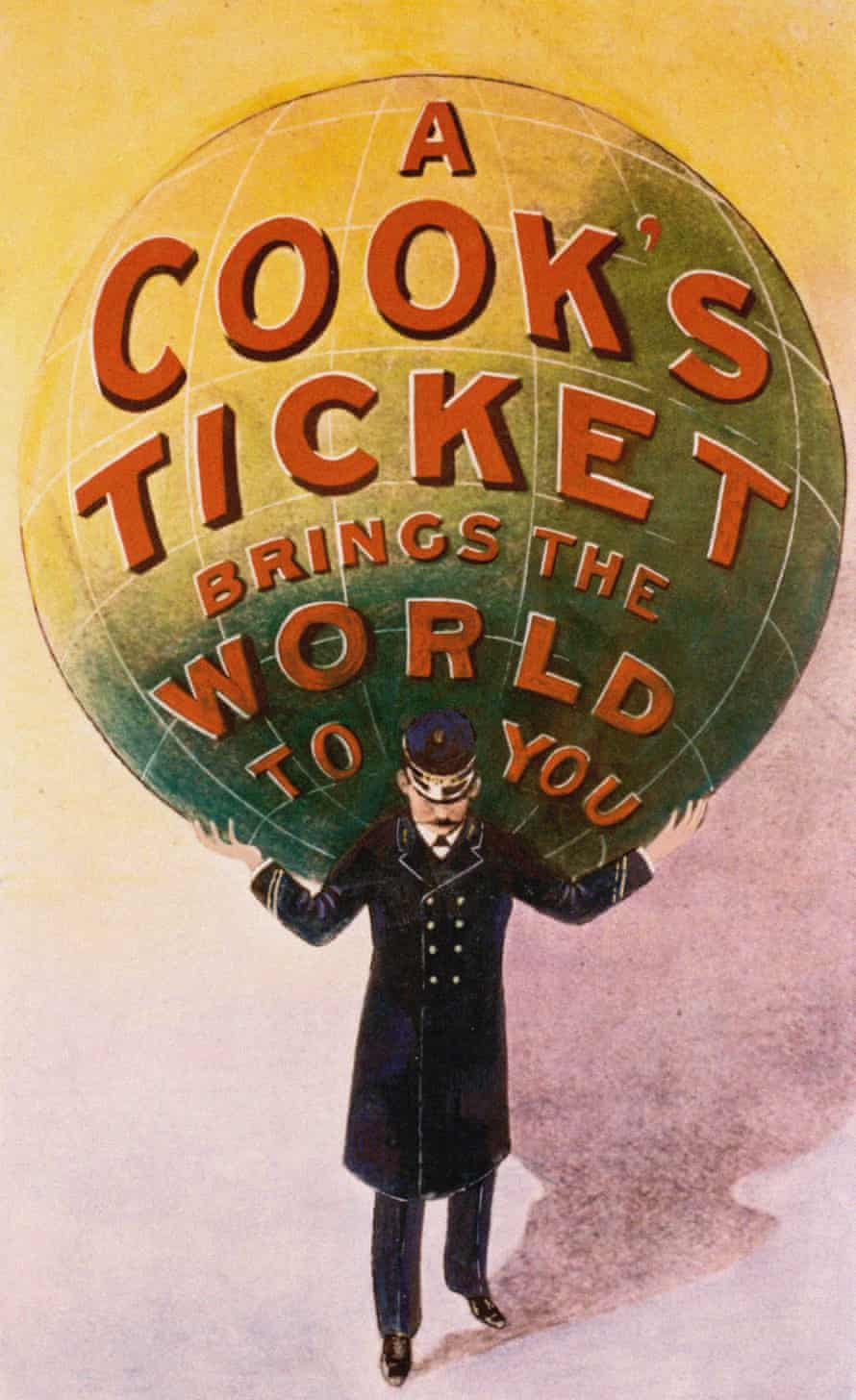 Advertising Poster of the Thomas Cook travel agency.
