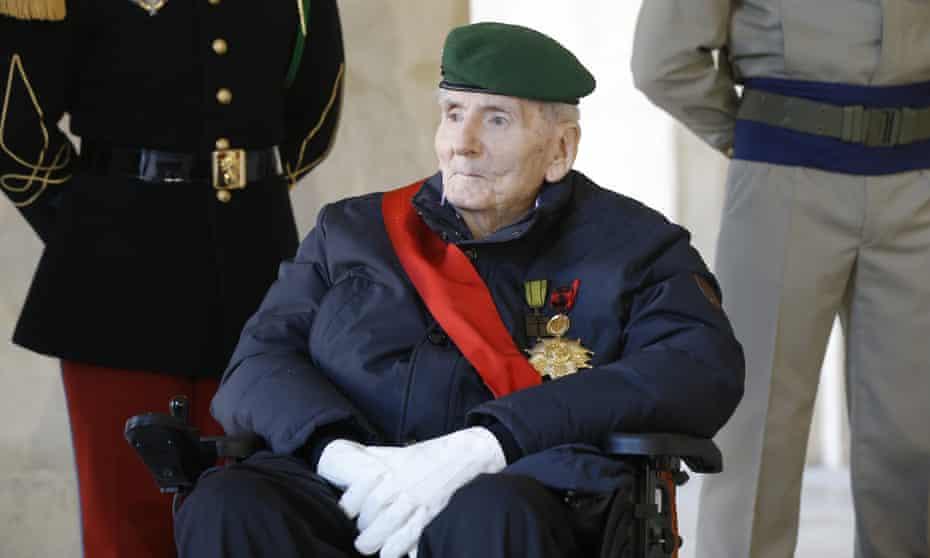 Hubert Germain, pictured in 2020.