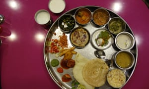 Thali from Shree Thaker Bhojanalay, Mumbai