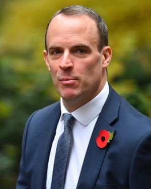 Former Brexit minister Dominic Raab said the Northern Irish backstop would last indefinitely.