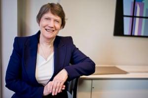 Helen Clark, former prime minister of New Zealand.