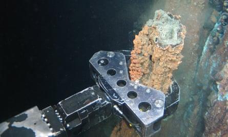 Deep sea mining off the coast of Papua New Guinea