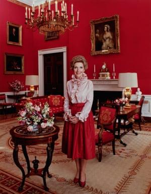 Nancy Reagan.