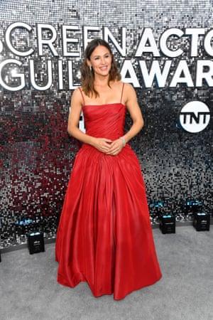 Jennifer Garner at the SAG awards